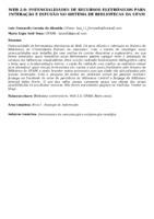 WEB 2.0: potencialidades de recursos eletrônicos para interação e difusão no Sistema de Bibliotecas da UFAM.