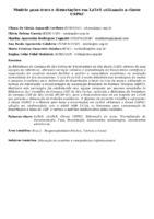 Modelo para teses e dissertações em LaTeX utilizando a classe USPSC. (Pôster).