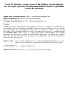 O uso de tutoriais como ferramenta facilitadora para divulgação dos serviços e produtos do Sistema de Bibliotecas da Universidade Federal do Amazonas. (Pôster)