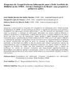 Programa de Competência em Informação para a Rede Ametista de Bibliotecas da CPRM – Serviço Geológico do Brasil: uma proposta e primeiras ações. (Pôster)