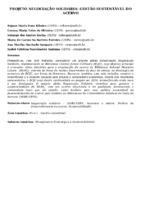 Projeto negociação solidária: gestão sustentável do acervo. (Pôster)
