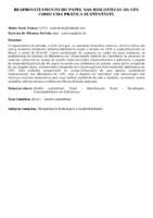 Reaproveitamento do papel nas bibliotecas da UFU como uma prática sustentável. (Pôster)