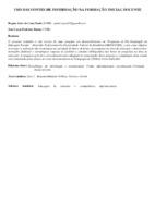 Uso das fontes de informação na formação inicial docente. (Pôster)