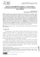 Associação de Bibliotecários e a Agenda 2030: o papel social das bibliotecas no Estado de Minas Gerais