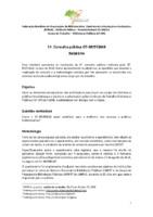 1ª. Consulta pública GT-BP/FEBAB - Relatório