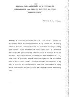 """Proposta para implantação de um programa de biblioterapia para cegos no Instituto dos Cegos """"Adalgisa Cunha""""."""