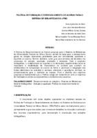 Política de formação e desenvolvimento de acervo para o Sistema de Bibliotecas da UFMG.