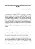 Inventário do acervo bibliográfico do Sistema de Bibliotecas da UFMG.