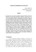 O SIBi/USP e a administração por projetos.