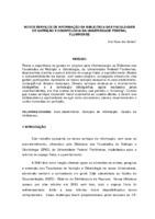 Novos serviços de informação da biblioteca das Faculdades de  Nutrição e Odontologia da Universidade Federal Fluminense.