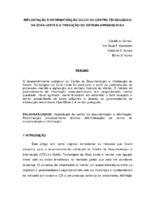 Implantação e informatização do CDI do Centro Tecnólogico da Zona Leste e a tradução do Sistema OpenBiblio 0.4