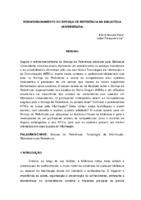 Redimensionamento do serviço de referência na biblioteca universitária.