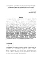 O processo de aplicação da Política de Desenvolvimento de Coleções na Biblioteca Universitária do CEART/UDESC.