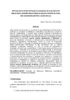 Metodologia de implantação e avaliação da qualidade de bibliotecas universitárias especializadas através da ótica dos usuários/clientes: o caso dos 4 A.