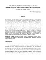 Análise dos padrões e indicadores de qualidade para disponibilização das teses e dissertações na Biblioteca Digital da UNICAMP: estudo do caso.