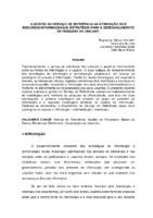 A gestão do serviço de referência na otimização dos recursos informacionais: estratégia para o desenvolvimento da pesquisa na UNICAMP.