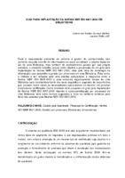 Guia para implantação da Norma NBR ISO 9001:2000 em bibliotecas.