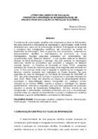 Literatura cinzenta em educação: propostas e diretrizes de implementação de um projeto para divulgação da produção acadêmica.