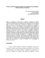 Curso à distância sobre qualidade em serviços de informação: parceria Brasil X Portugual.