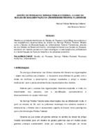 Gestão de pessoas no Serviço Público Federal: o caso do Núcleo de Documentação da Universidade Federal Fluminense.