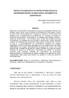 Gestão de conhecimento no Sistema de Bibliotecas da Universidade Federal de Minas Gerais: mapeamento de competências.