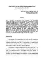 Estratégia da UFF para adesão dos programas de Pós-graduação ao Projeto BDTD.