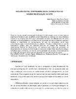 Inclusão digital: compromisso social da biblioteca do Colégio de Aplicação, da UFPE.