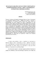 Implantação da Biblioteca Digital de Teses e Dissertações da Universidade Estadual Paulista – UNESP: a customização do software para a identidade acadêmica.