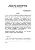 Biblioteca Digital de Teses e Dissertações do Instituto de Física Gleb Wataghin - UNICAMP: relato de experiência.