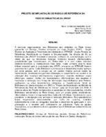 Projeto de implantação de modelo de referência da Rede de Bibliotecas da UNESP.