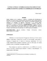 Clipping eletrônico: experiência da Biblioteca ESPM do Rio de Janeiro no incentivo à leitura e na disseminação da informação.