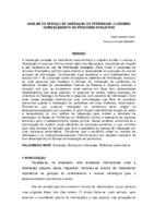 A análise de serviço de indexação de periódicos: o usuário como elemento do processo avaliativo.