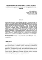 Disponibilidade de bibliografia básica: o caso de estudo do Curso de Graduação em Engenharia de Produção Mecânica da EESC-USP.