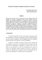 Pesquisa de opinião de usuário de Biblioteca Setorial.