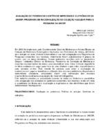 Avaliação de periódicos científicos impressos e eletrônicos da UNESP: programa de racionalização da coleção nuclear para a pesquisa da UNESP.