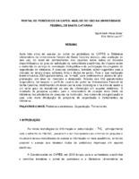 Portal de Periódicos da Capes: análise do uso na Universidade Federal de Santa Catarina.