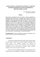 Da busca manual ao levantamento eletrônico: a trajetória da pesquisa bibliográfica no setor de periódicos da Biblioteca Central da UFRRJ.