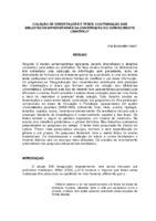 Coleção de dissertações e teses: contribuição das bibliotecas universitárias na construção do conhecimento científico.