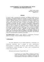 Comportamento e cultura informacional vistos através de uma publicação digital.