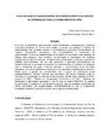 O uso da Base de Dados Minerva no desenvolvimento da gestão  da informaçâo para o conhecimento na UFRJ.