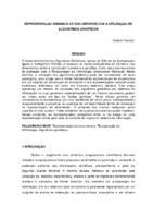 Representação dinâmica de documentos com a utilização de algoritmos genéticos.
