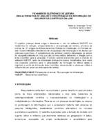 Fichamento eletrônico de leitura: uma alternativa de análise e recuperação da informação em documentos científicos on-line.
