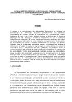 Gerenciamento de redes de informação em bibliotecas universitárias e o conhecimento como subsídio à formação da cidadania. (Pôster)