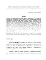 PROMBIC - Programa melhorameneto da Boblioteca do CESUR: estratégia de envolvimento cooperativo nas atividades de uma biblioteca universitária. (Pôster)