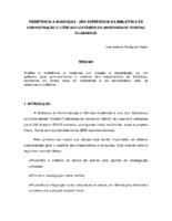 Resistência à mudanças : uma experiência da Biblioteca de Administração e Ciências Contábeis da Universidade Federal Fluminense. (Pôster)