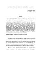 Auditoria interna do Sistema de Gestão pela Qualidade. (Pôster)