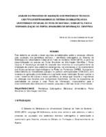 Análise do processo de aquisição dos periódicos técnicos-científicos estrangeiros do Sistema de Bibliotecas da Universidade Estadual de Feira de Santana ( SISBI-UEFS), face a disponibilização do Portal Brasileiro de Informação Científica. (Pôster)
