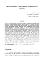 Biblioteca itinerante 'Djalma Maranhão': uma integração de gerações. (Pôster)