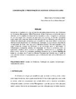 Conservação e preservação de acervos: súplica do livro. (Pôster)