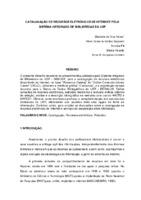 Catalogação de recursos eletrônicos de Internet pelo Sistema Integrado de Bibliotecas da USP. (Pôster)